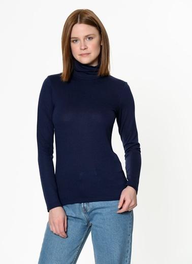 Asymmetry Tişört Lacivert